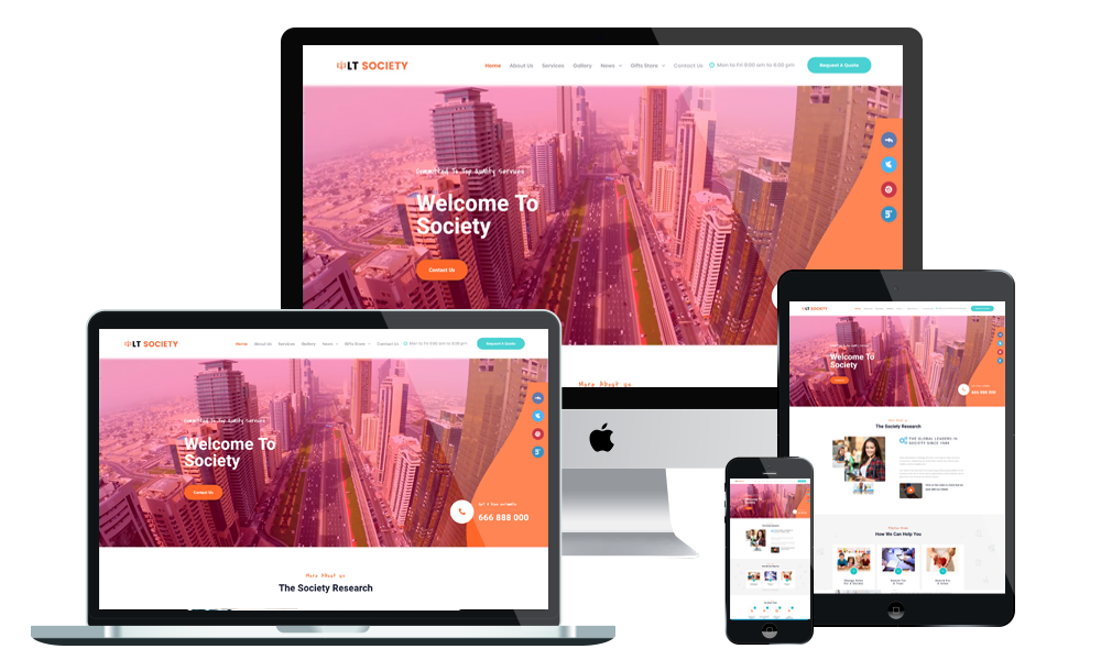 LT Society - Society WordPress Theme