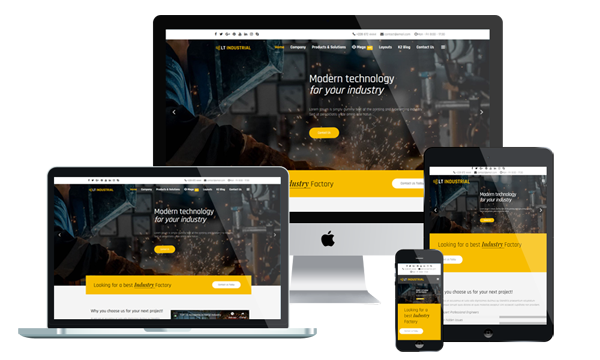 LT Industrial - Industrial WordPress Theme