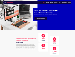 WordPress Theme - LT Personal