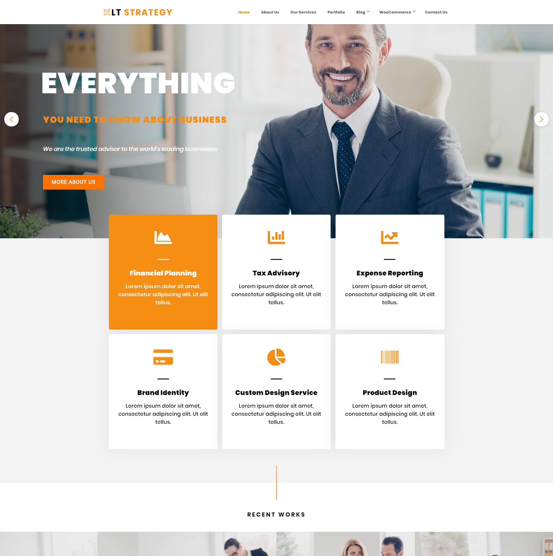 Strategy WordPress Theme