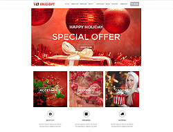Wordpress eCommerce Theme - LT xMas Gift