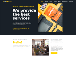 Creative Wordpress Theme - LT Creato