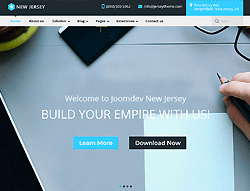 Business Joomla! Template - JD NewJersey