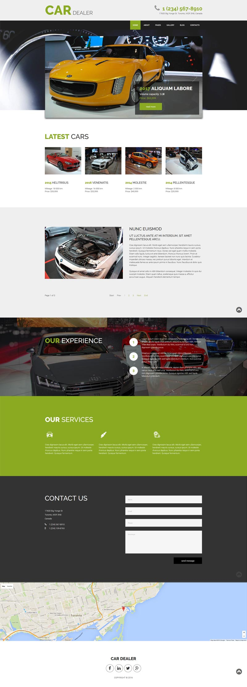 Car Dealer Joomla! template