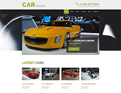 Car Dealer Joomla! Template - 002095