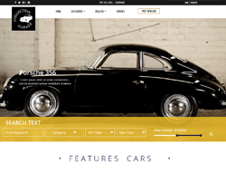 Top Website Template - GARAGE