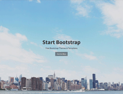 One page Bootstrap template - Stylish Portfolio