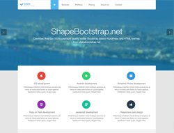 Top Website Template - Xeon