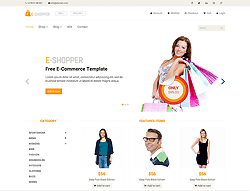 Best Ecommerce HTML Template - E-Shopper