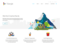 Responsive Multipurpose Template - Triangle