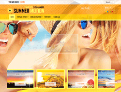 Joomla Template - Summer Motion