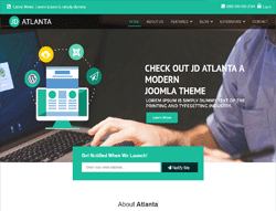 Business Joomla! Template - JD Atlanta