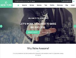 Creative Joomla! Template - JD NewYork