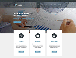 Financial Joomla Template - 002097