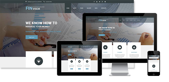 Financial Services Joomla Template