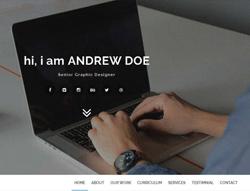 Personal Portfolio HTML Template - Minsa