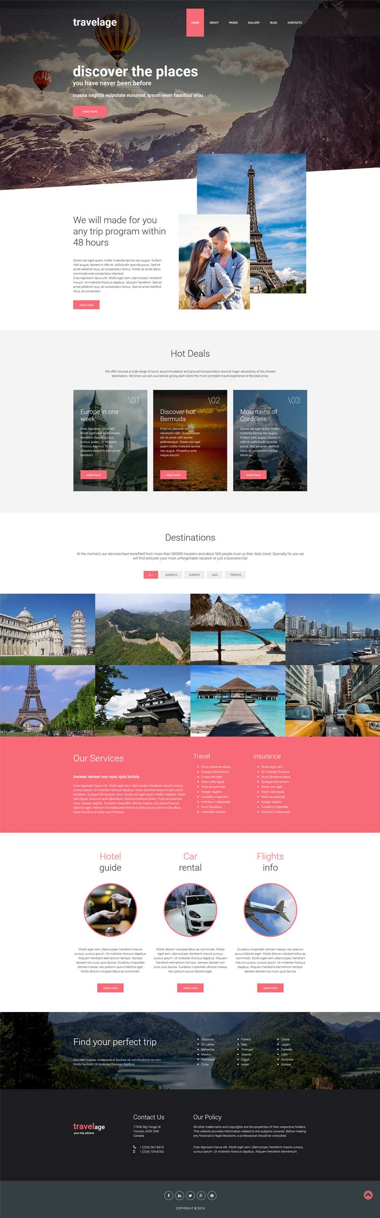 Financial Joomla! template