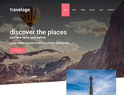 Travel Joomla! Template - 002098