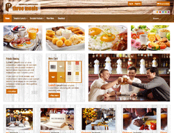 Food Joomla! Template - AT Threemeals