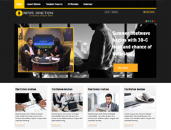 News Joomla! template - AT Newsjunction