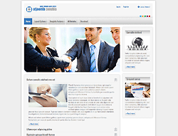 Business Joomla Template - AT Conubia