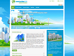 Joomla! Template - AT Constructionflex