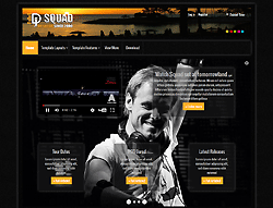 DJ Joomla! Template - AS Squad