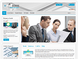 Business Joomla! Template - PT-Global