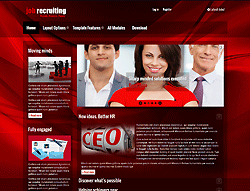 Jobs Joomla! Template - PJO JobRecruiting