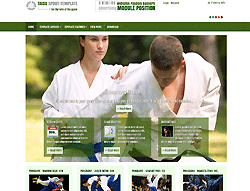 Joomla! Template - AT Taisu Sport