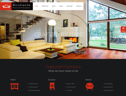 Decor Joomla Template - Woodlands PT