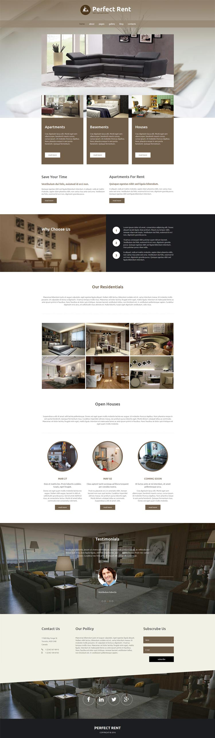 Real Estate Joomla! template