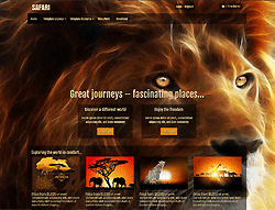 Joomla! Template - AT Safari