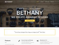 HTML Template - Bethany