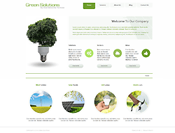 Eco Joomla Template - 002026