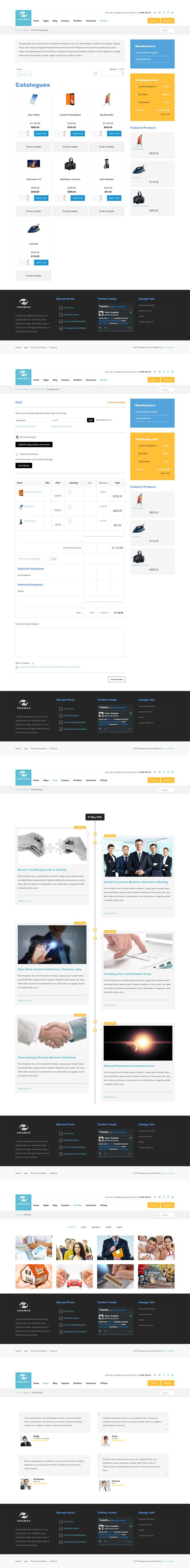 Medical and Insurance Joomla! template