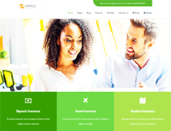 Business Joomla Template - Orange PT