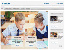 Joomla! Template - AT Wairtpes