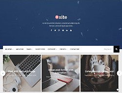 WordPress Theme - PS Oxite