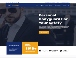 Security Joomla Template - AT Secursy