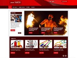 Joomla! Template - PJO Sport
