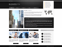 Joomla! 3 Bootstrapped Template - 002027
