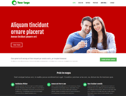 Top Website Template - HR Theme One
