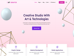 Design Joomla Template - AT Grafik