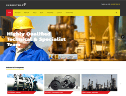 Business Joomla Template - Industrial PT