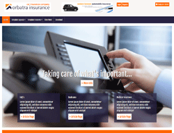 Insurance Joomla! Template - AT Orbatra