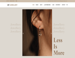 eCommerce Joomla Template - AT Jewellery