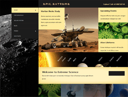 Scientific Joomla! Template - Epic Extreme PT