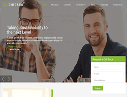 Joomla! Template - JD Chicago