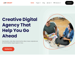 Joomla! 3 Template - AT Creart